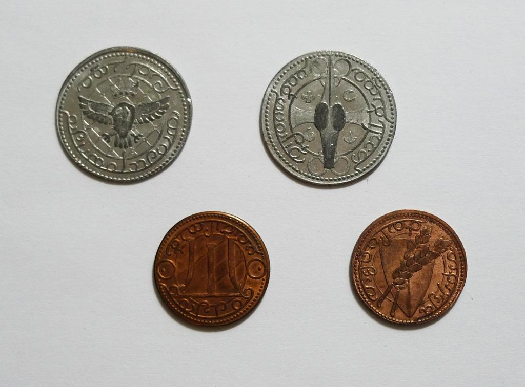 Trenne Byar coins