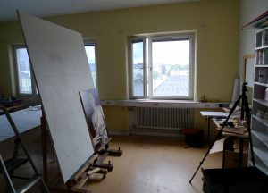 Temporary atelier in Västberga 1