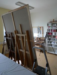 Temporary atelier in Västberga 2