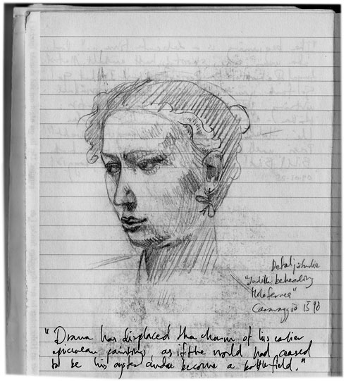 Caravaggio sketch 040125 1