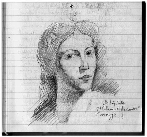 Caravaggio sketch 040125 2