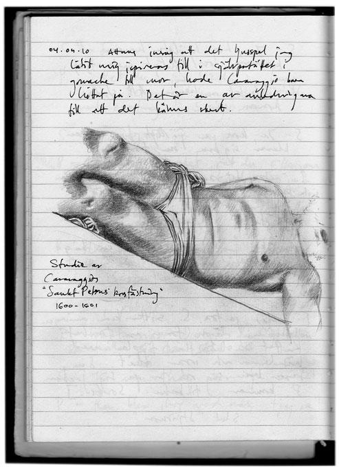Caravaggio sketch 040410 1