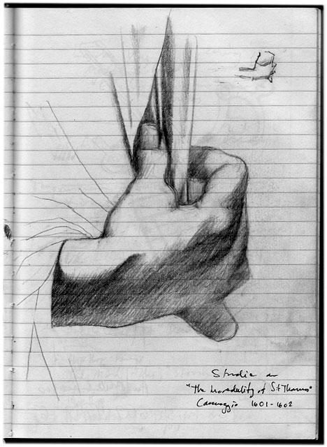 Caravaggio sketch 040410 2